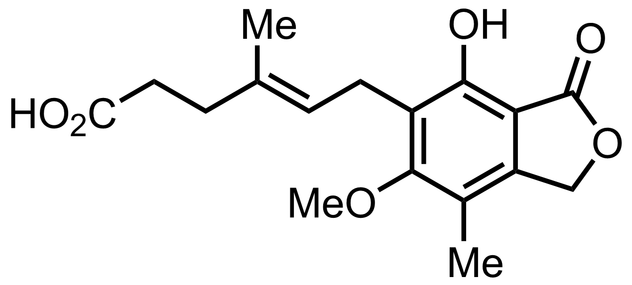 Mycophenolic Acid structure