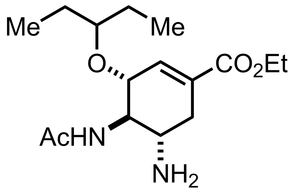 Structure of Oseltamivir