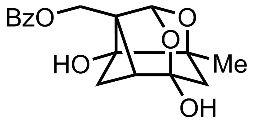 Paeoniflorigenin structure