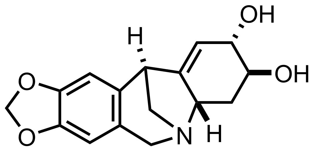 Structure of Pancracine