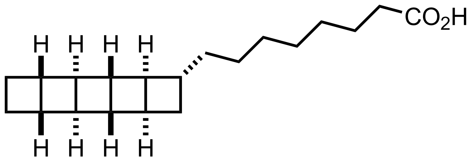 Structure of Pentacycloanammoxic Acid