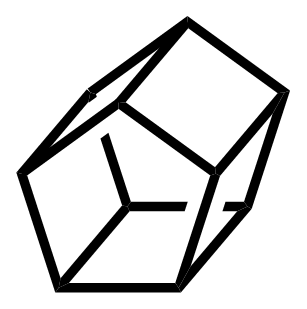 Pentaprismane structure
