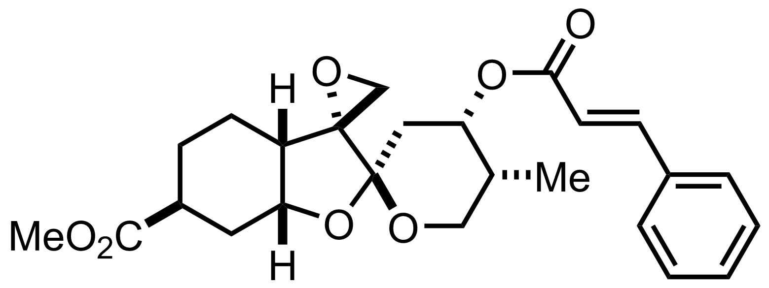 Phyllanthocin structure