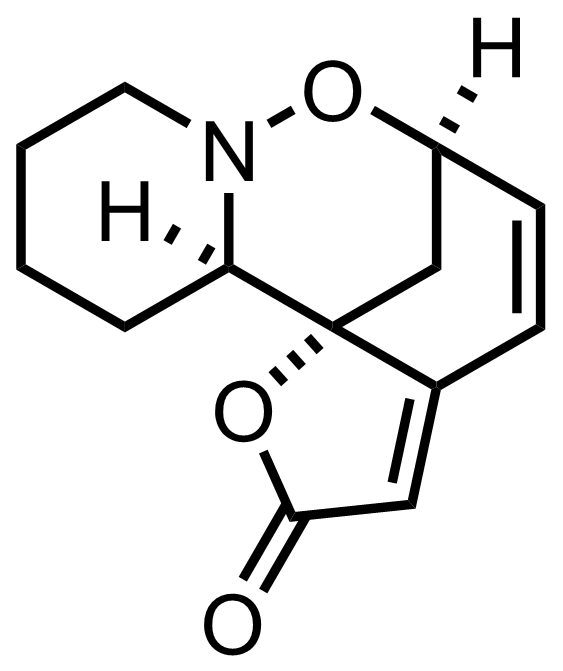Structure of Phyllantidine