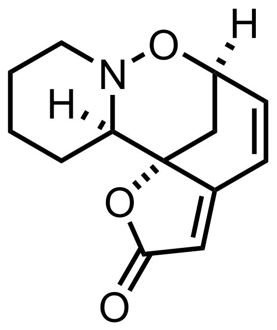 Phyllantidine structure