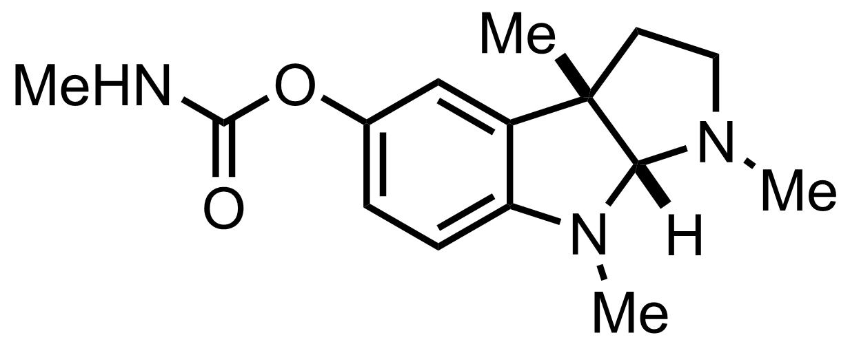 Physostigmine structure