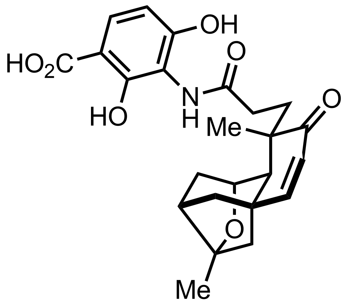 Structure of Platensimycin