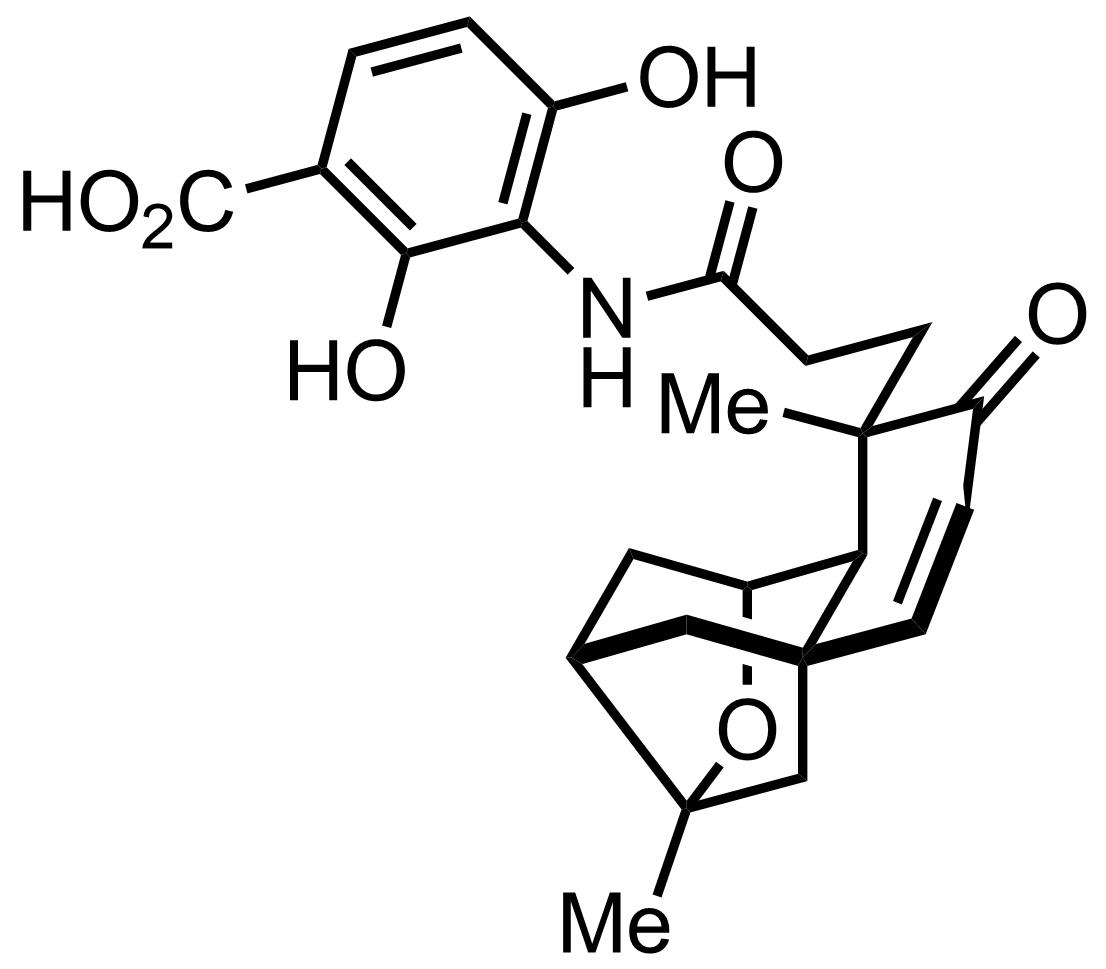 Platensimycin structure