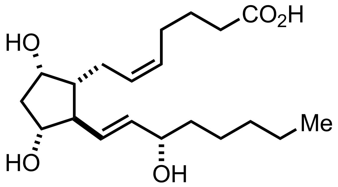 Prostaglandin F2α structure