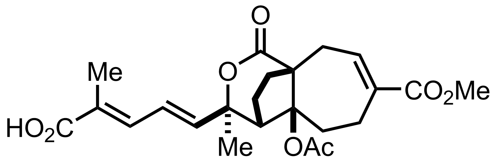 Structure of Pseudolaric Acid B