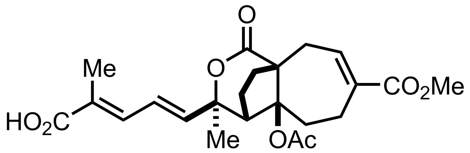 Pseudolaric Acid B structure