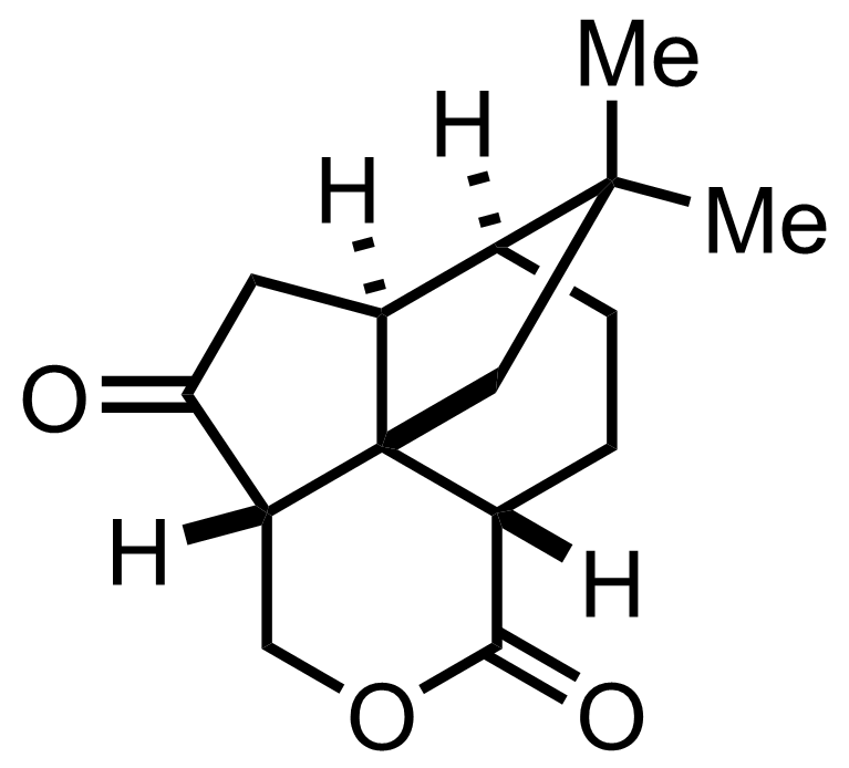 Structure of Quadrone