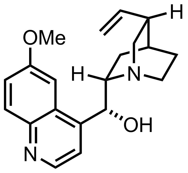 Quinine structure