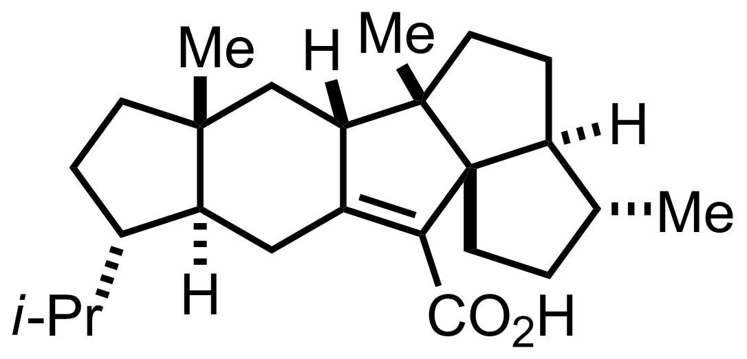 Structure of Retigeranic Acid