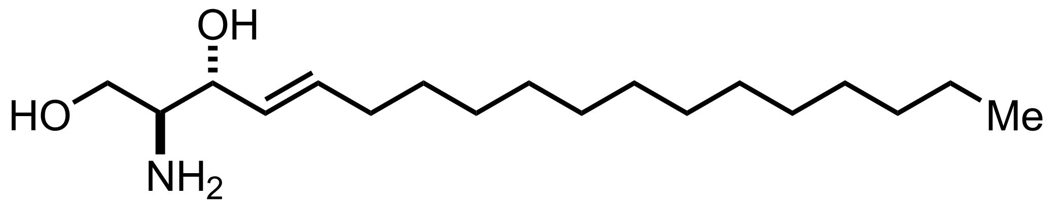 Sphingosine structure