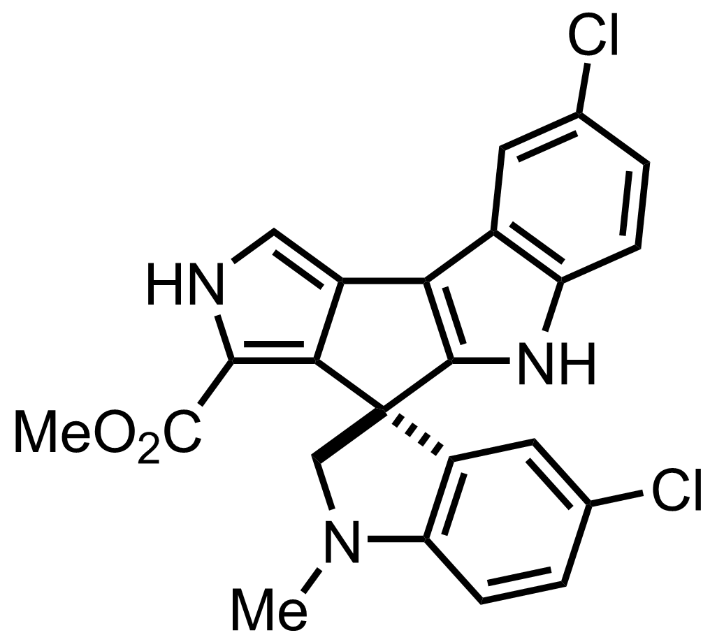 Structure of Spiroindimicin B
