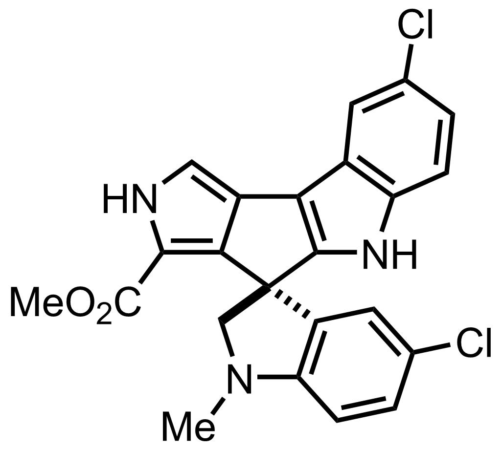 Spiroindimicin B structure