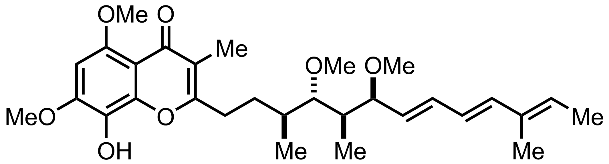 Structure of Stigmatellin A