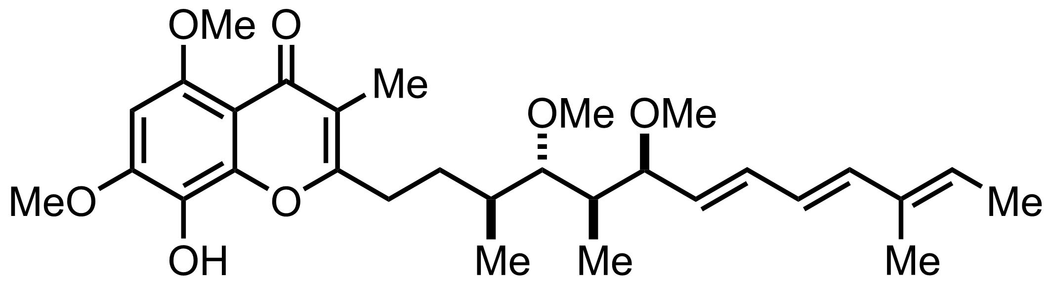 Stigmatellin A structure
