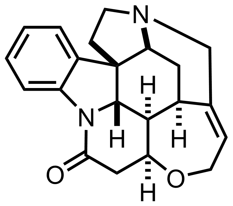 Structure of Strychnine