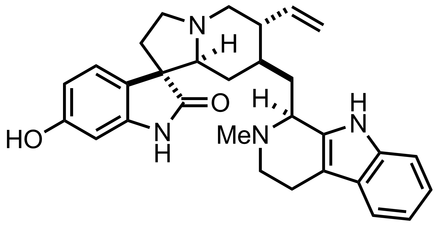 Structure of Strychnofoline