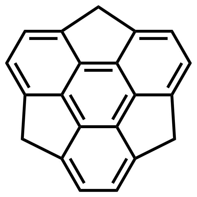 Sumanene structure
