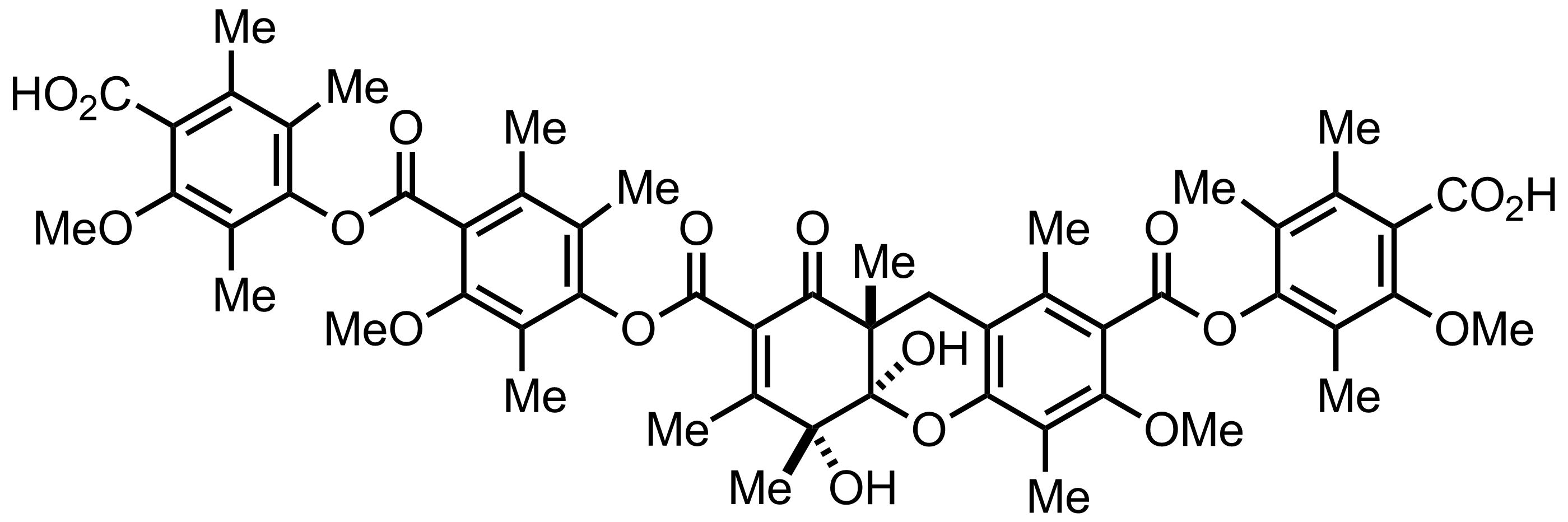 Thielocin A1b structure
