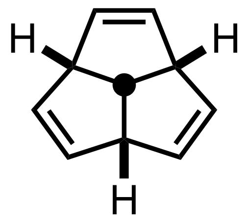 Triquinacene structure