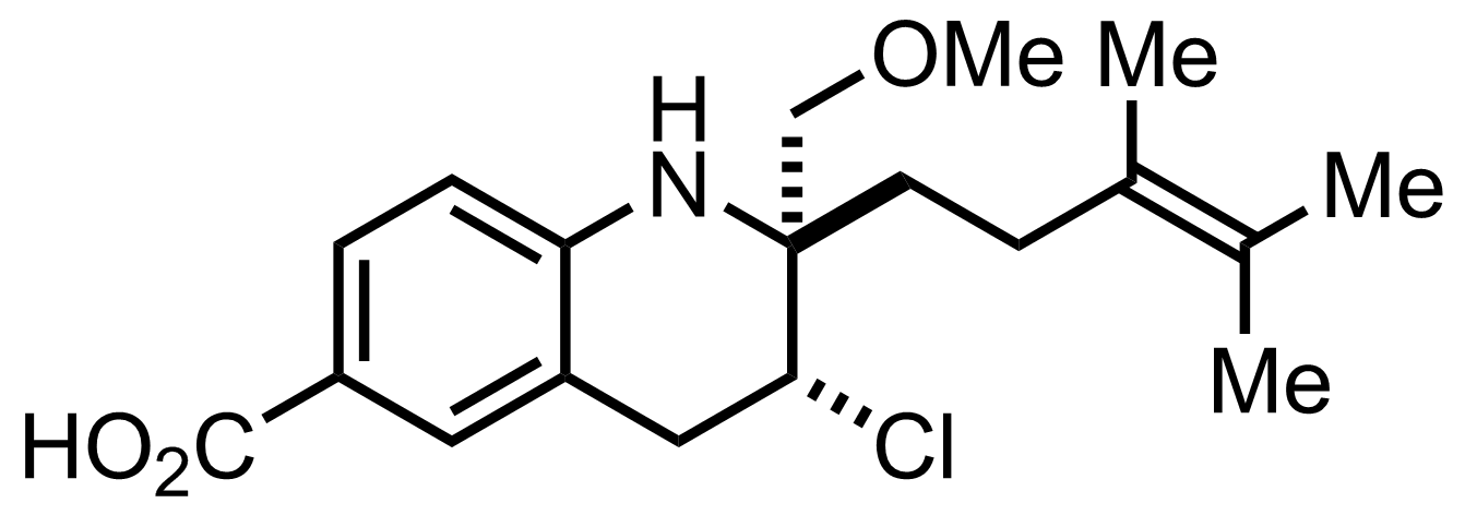 Structure of Virantmycin