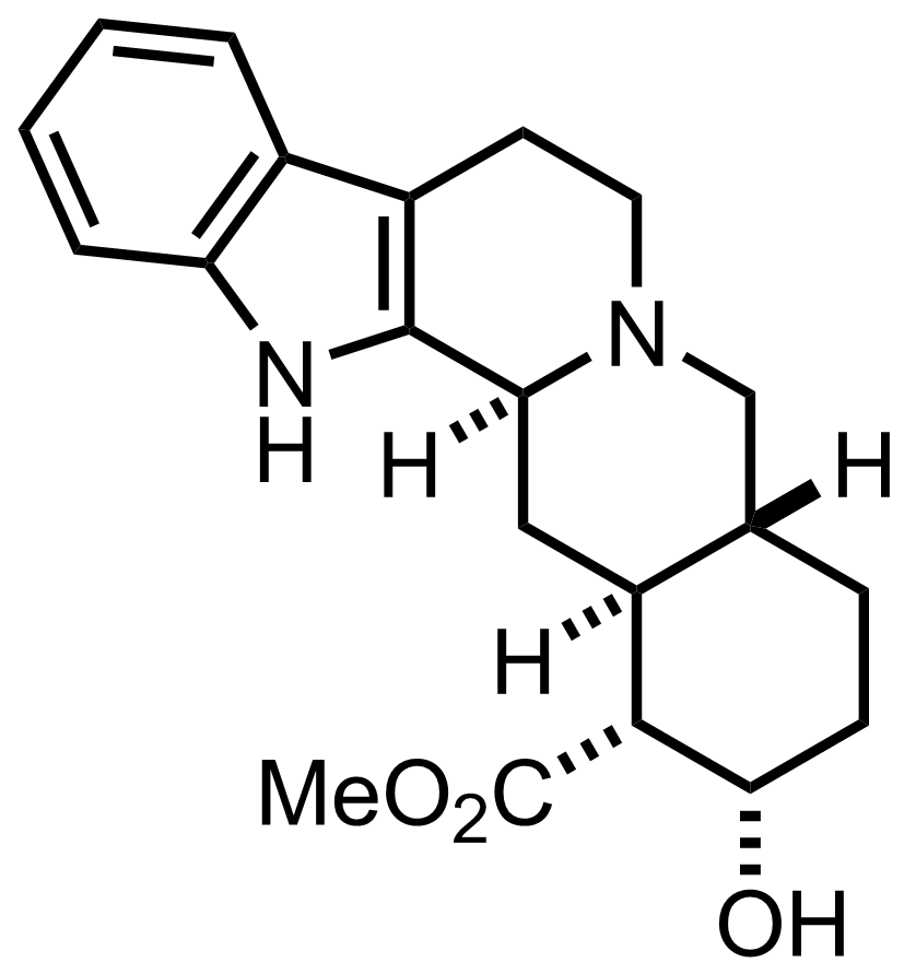 Structure of Yohimbine