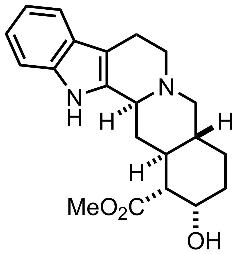 Yohimbine structure