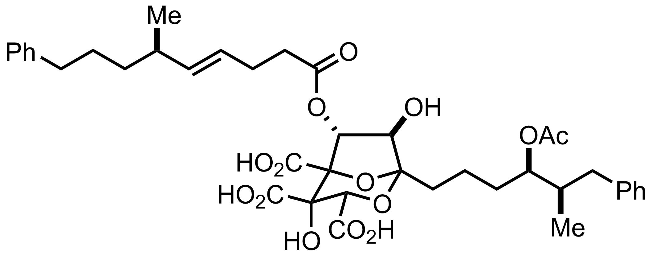 Structure of Zaragozic Acid C
