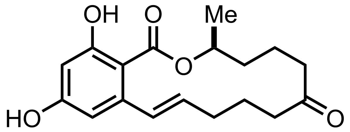Structure of Zearalenone