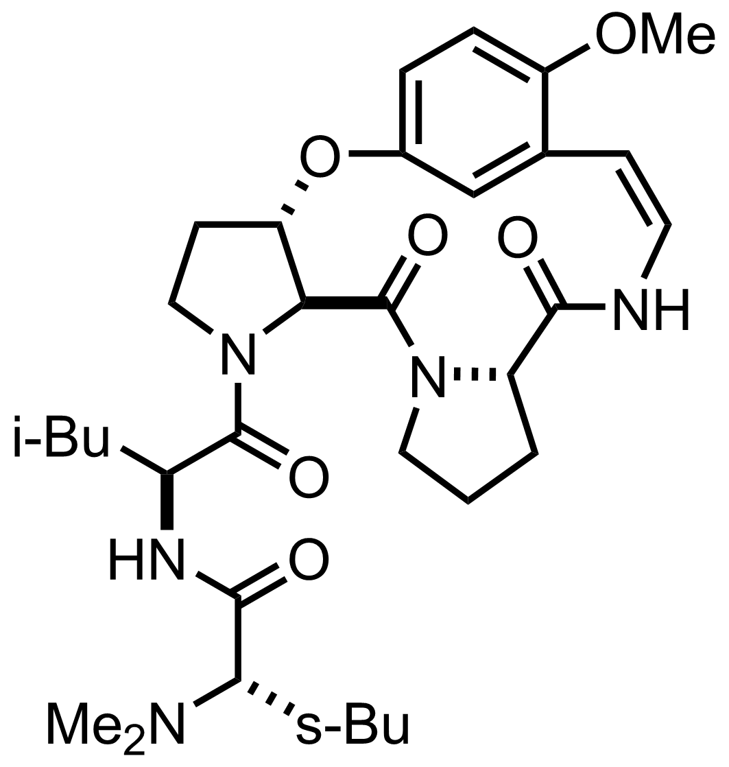 Structure of Ziziphine N