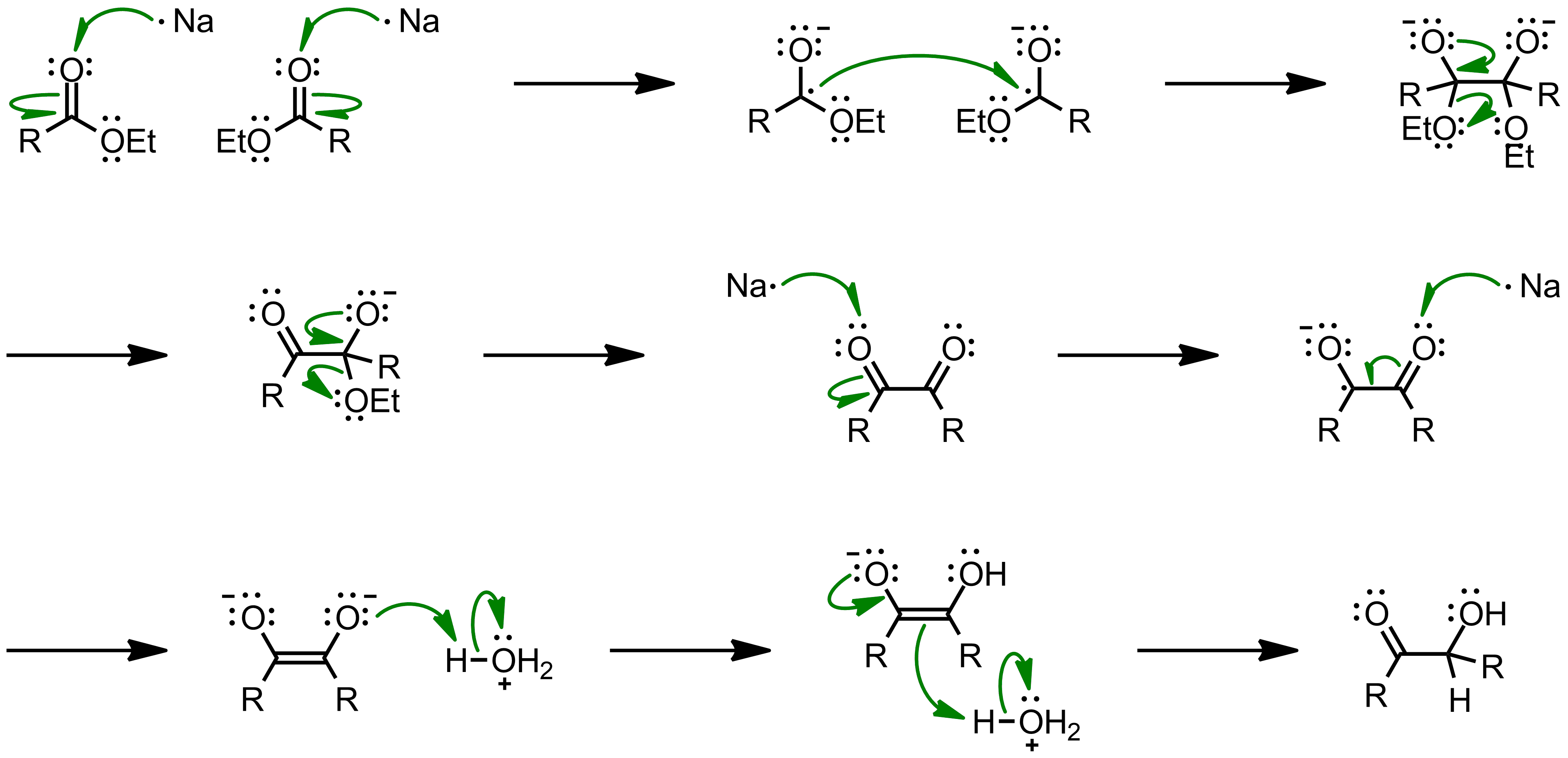 Mechanism of the Acyloin Condensation