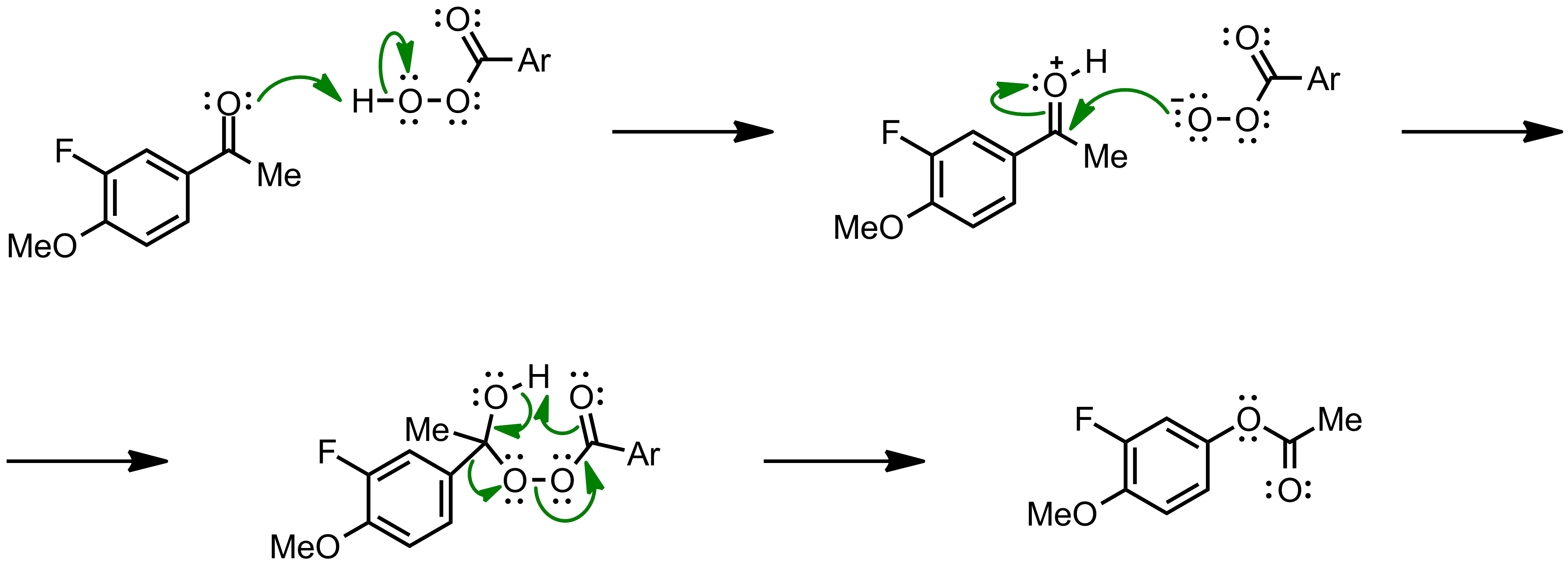 Mechanism of the Baeyer-Villiger Oxidation