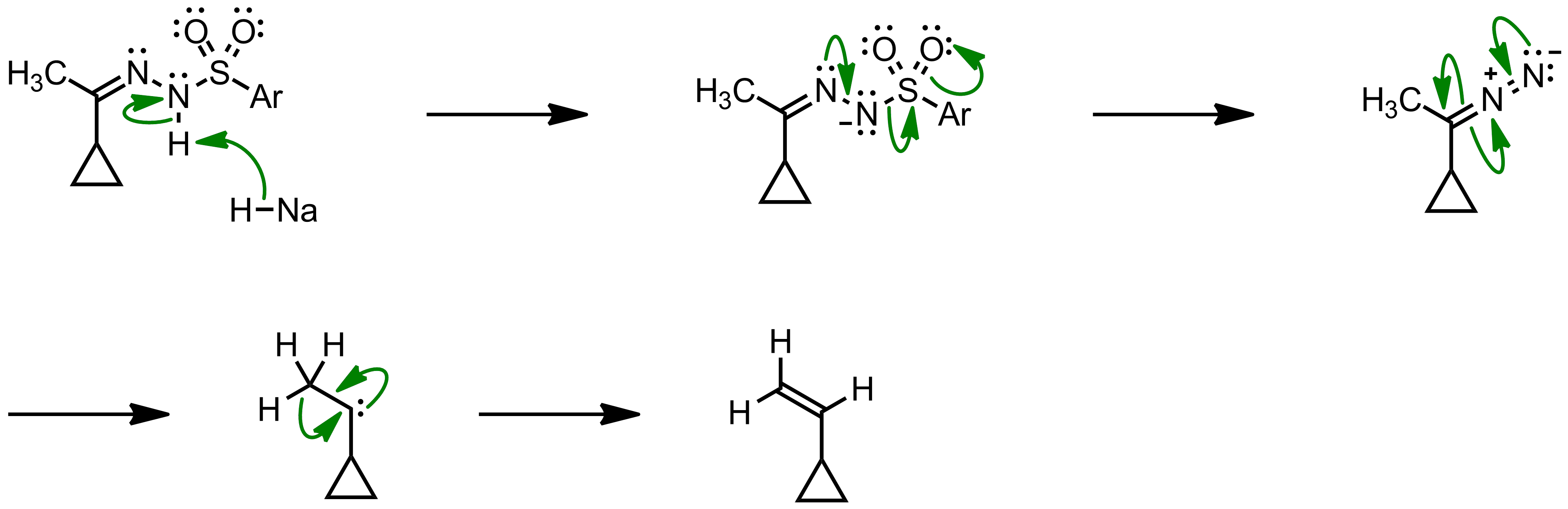 Mechanism of the Bamford-Stevens Reaction