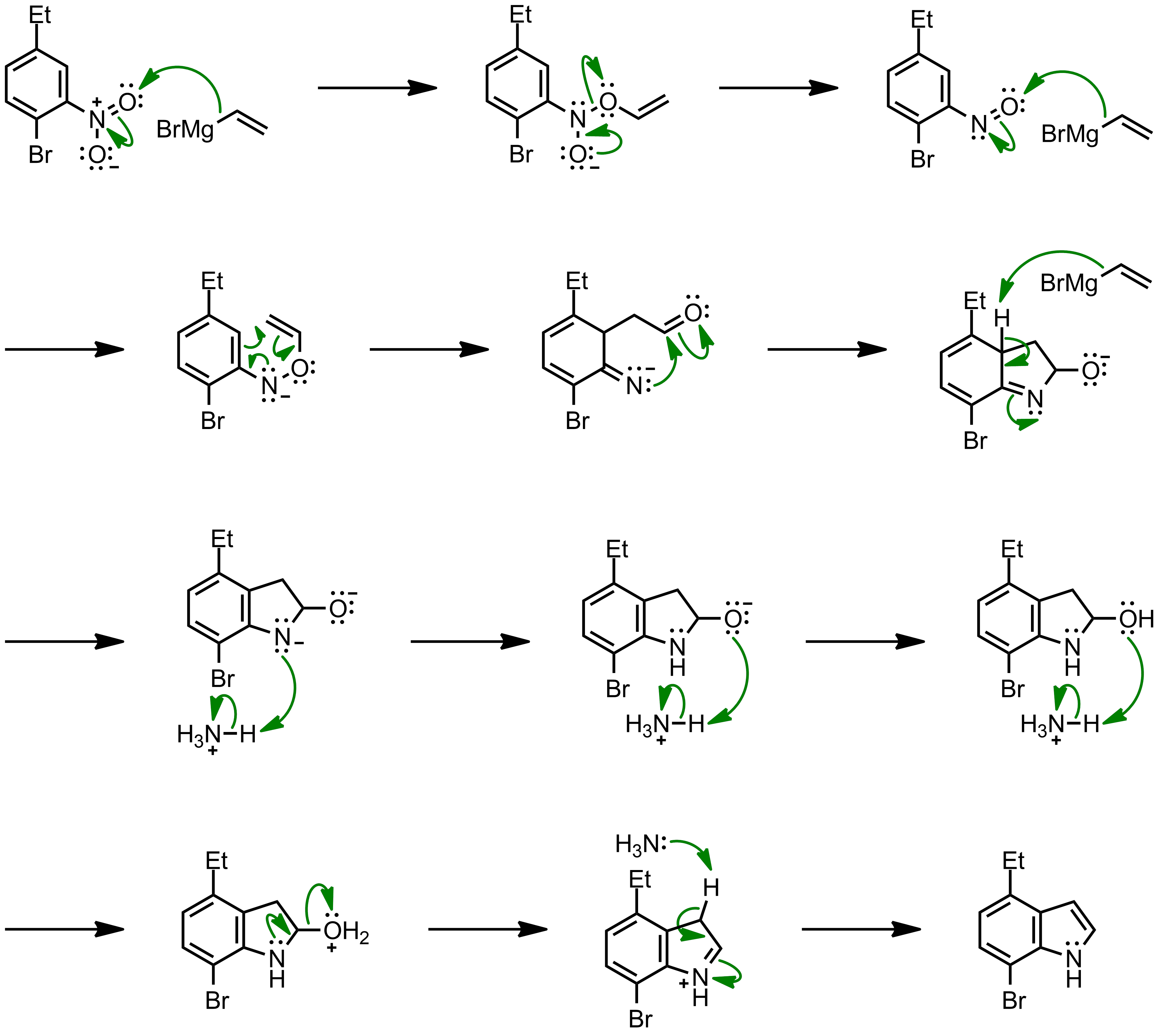 Mechanism of the Bartoli Indole Synthesis