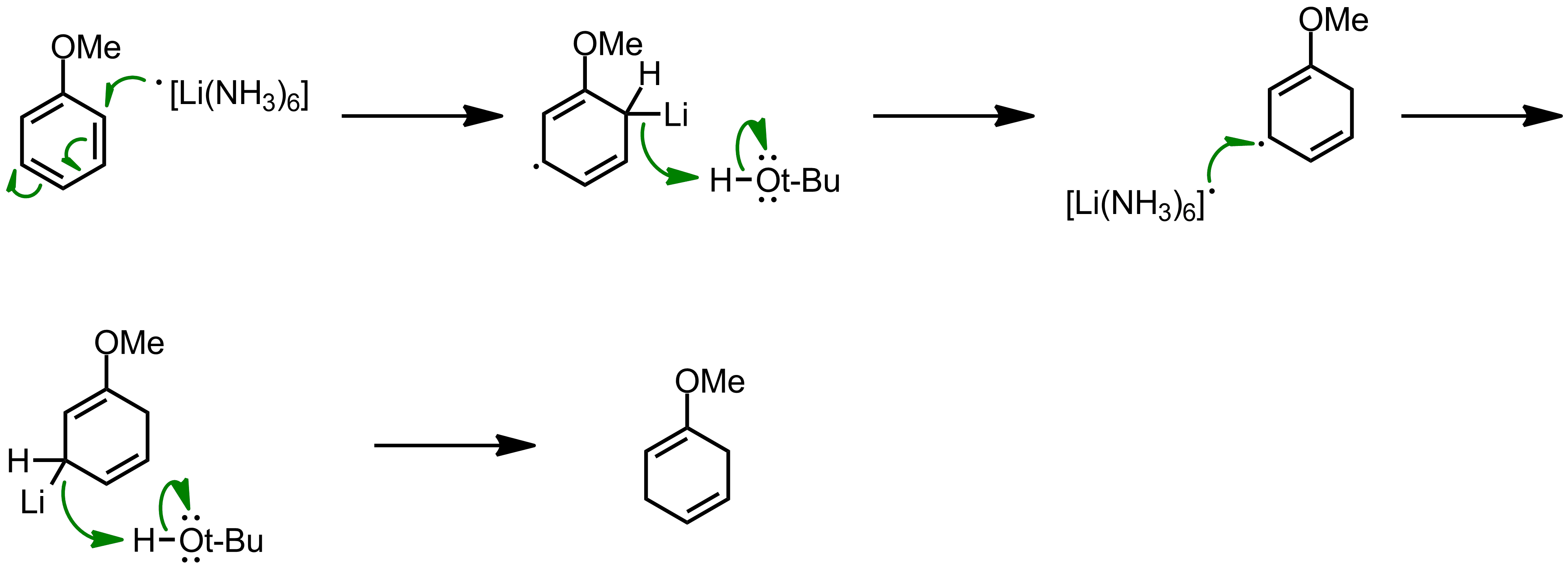 Mechanism of the Birch Reduction