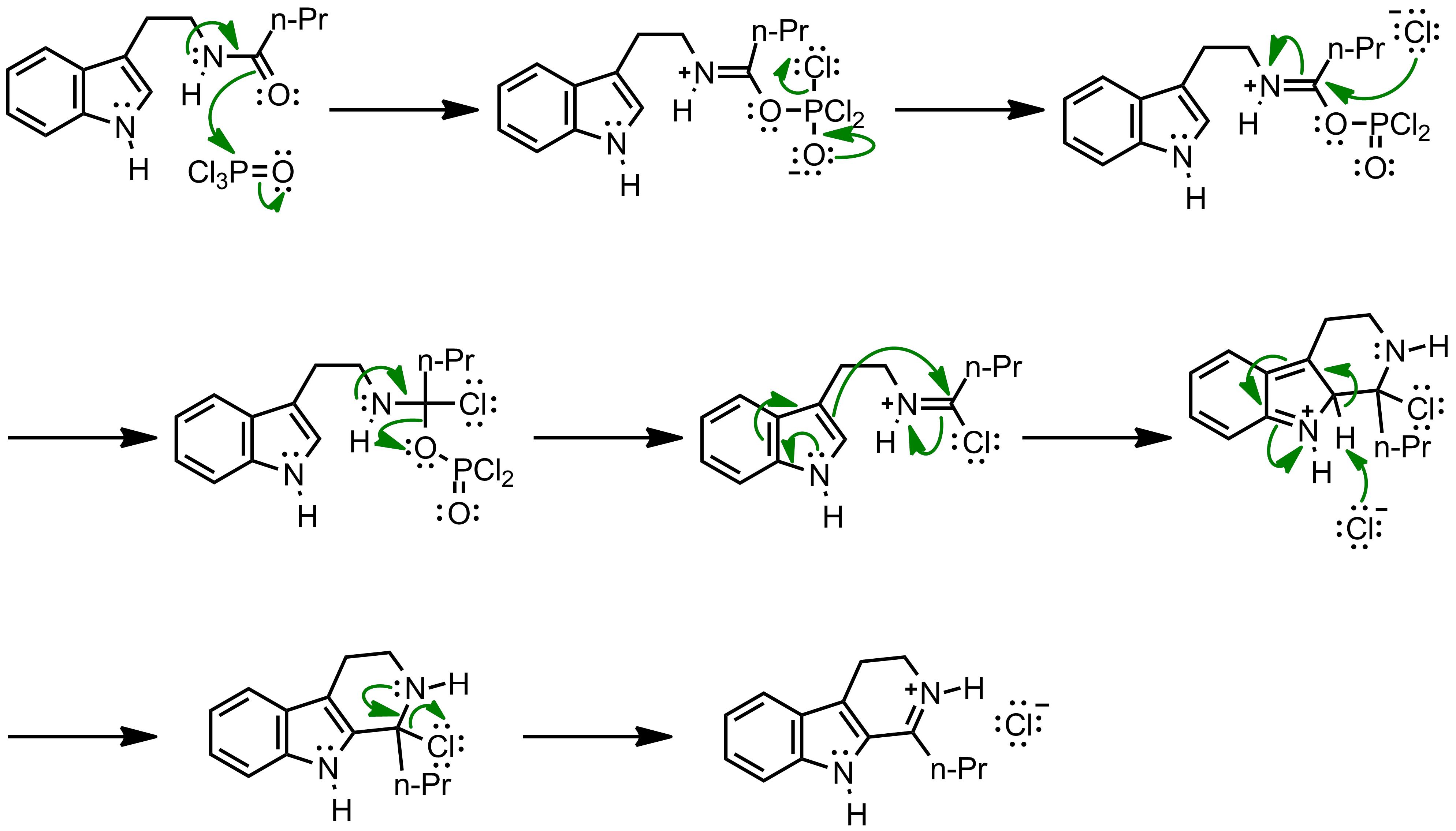 Mechanism of the Bischler-Napieralski Reaction