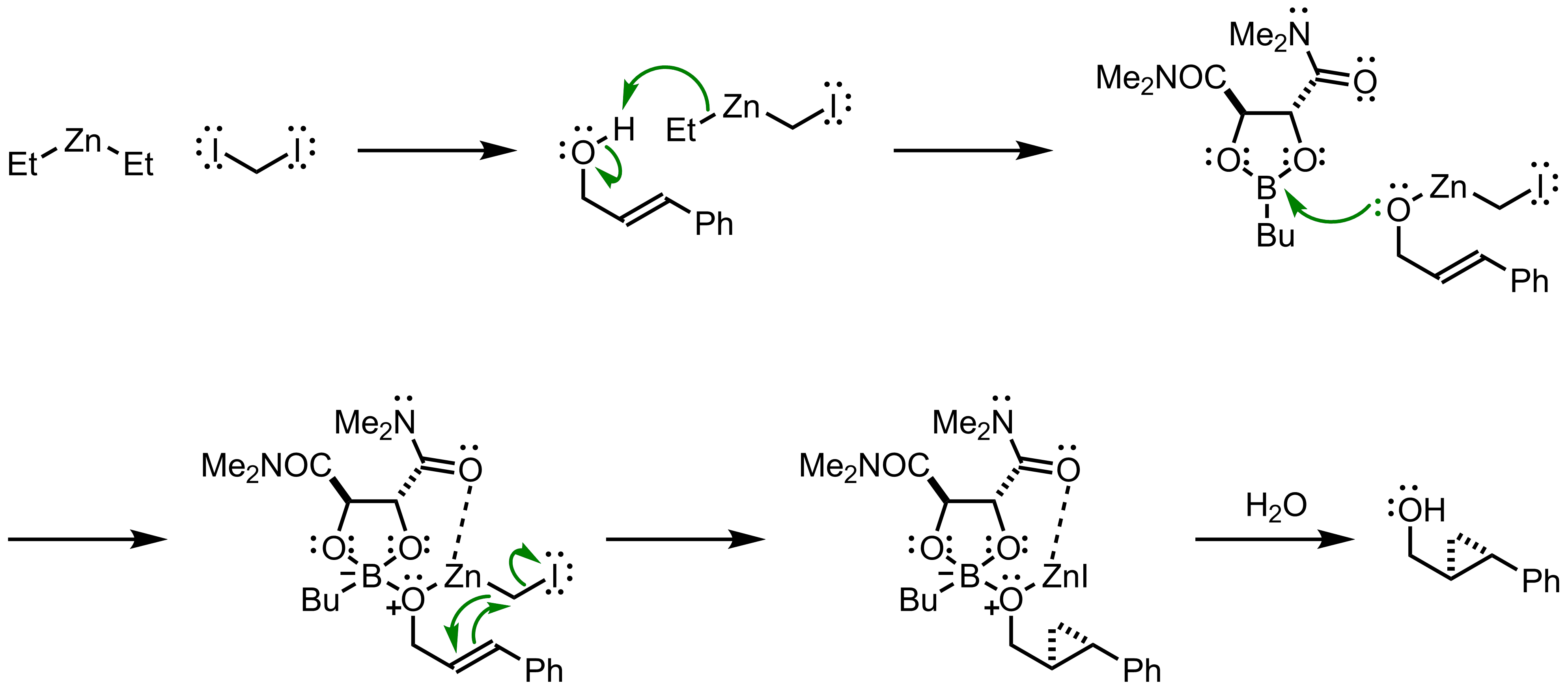 Mechanism of the Charette Asymmetric Cyclopropanation