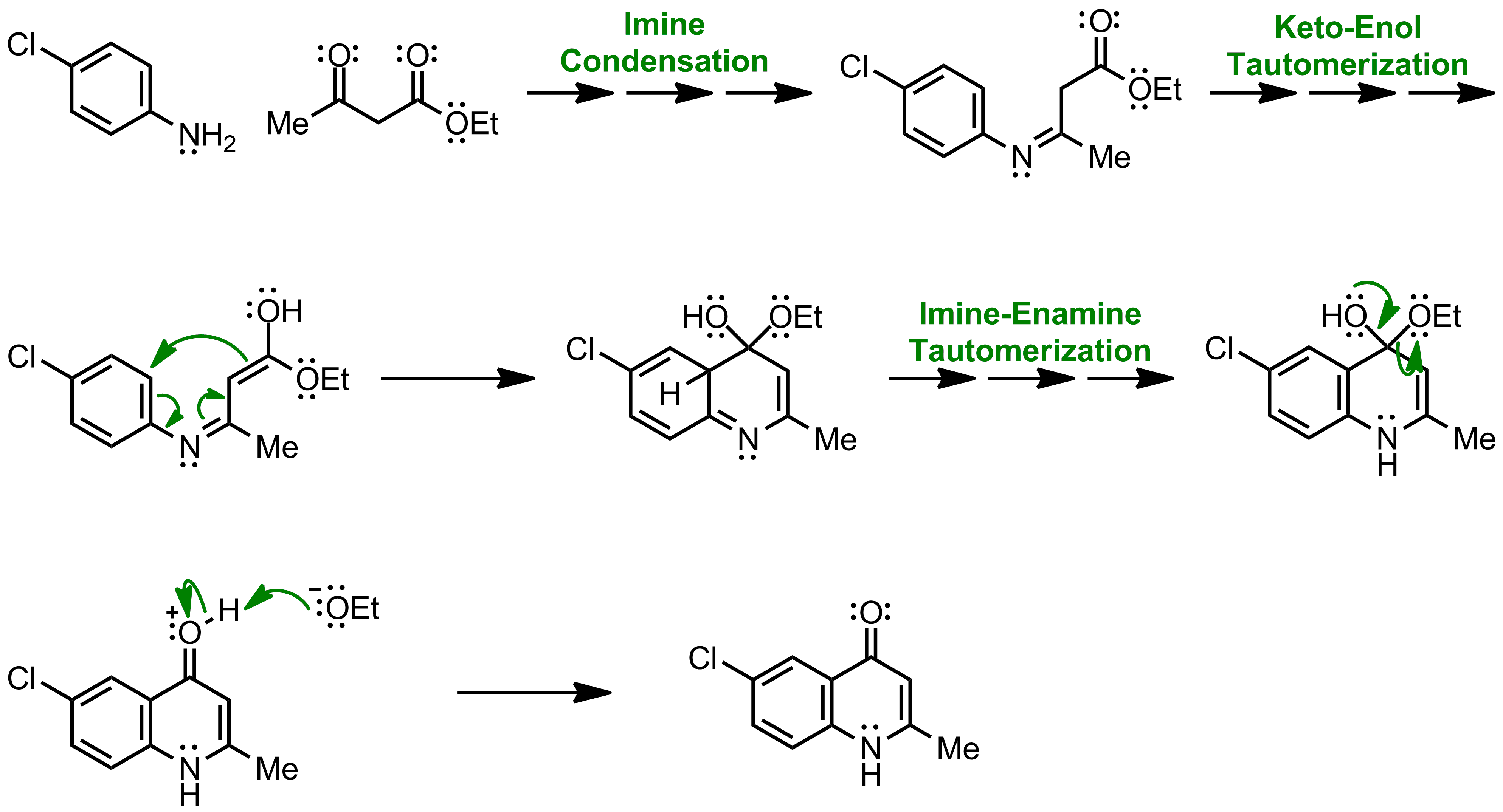 Mechanism of the Conrad-Limpach Synthesis