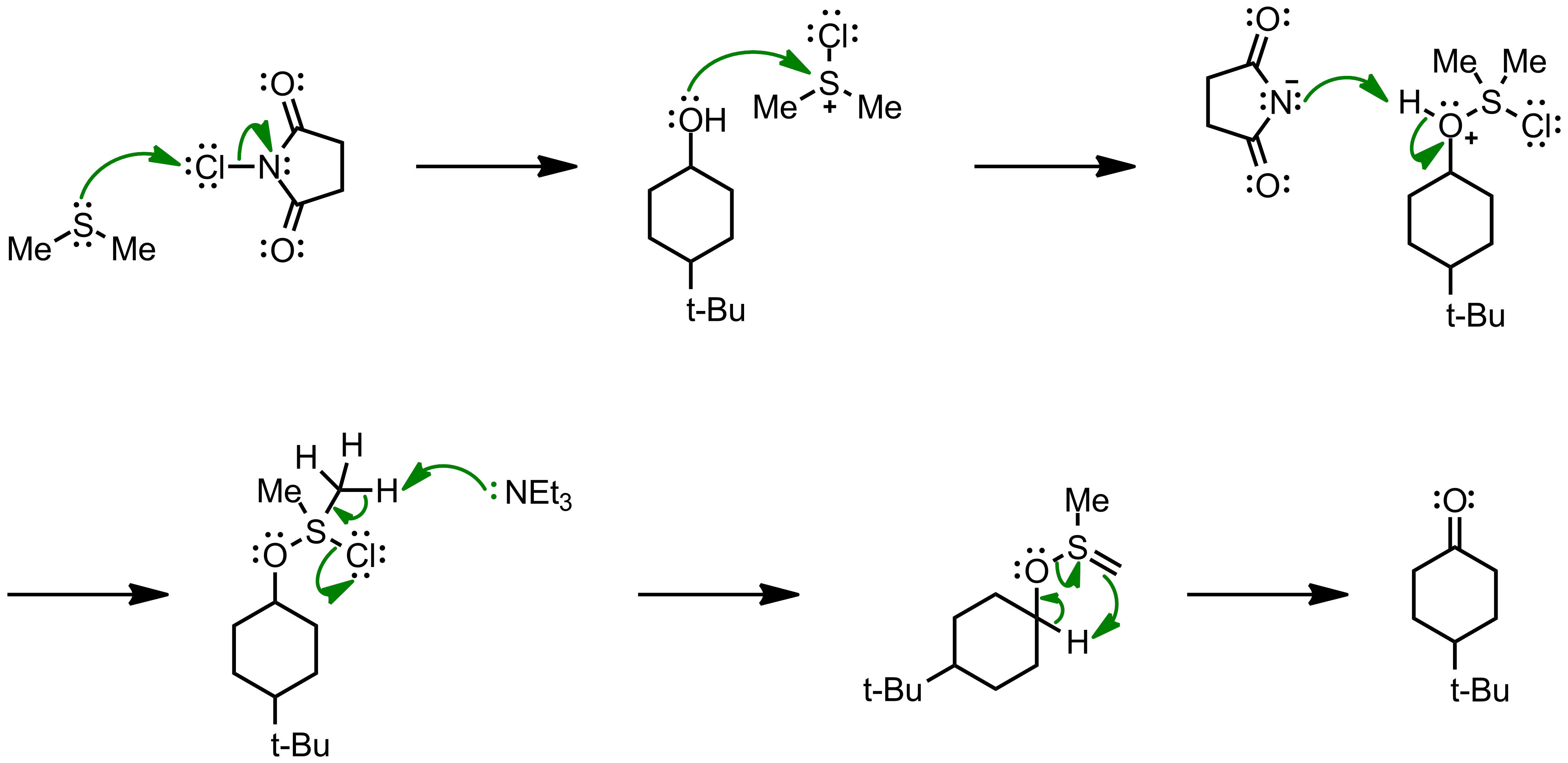 Mechanism of the Corey-Kim Oxidation