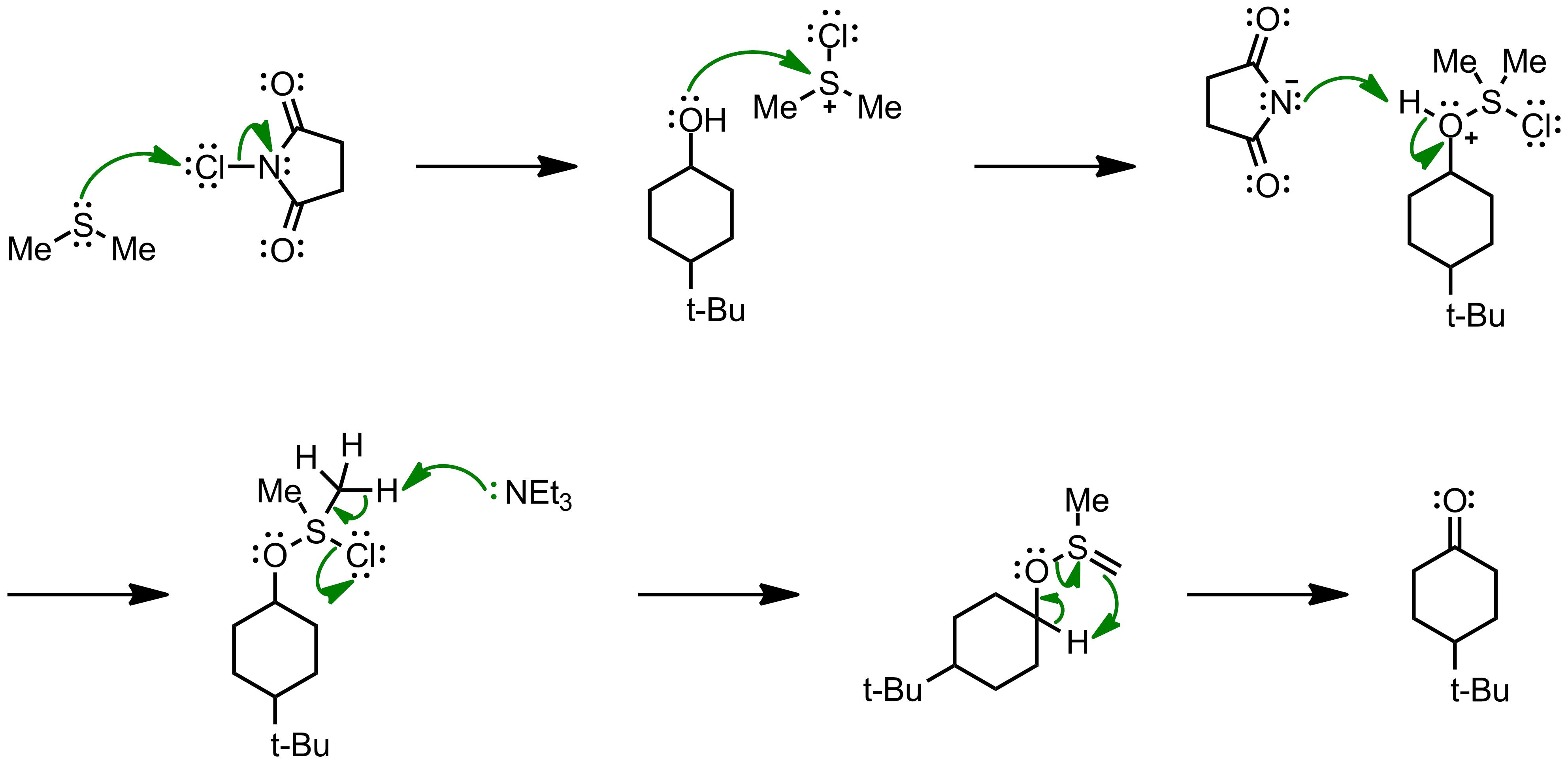 Mechanism of the Corey-Kim Oxidation