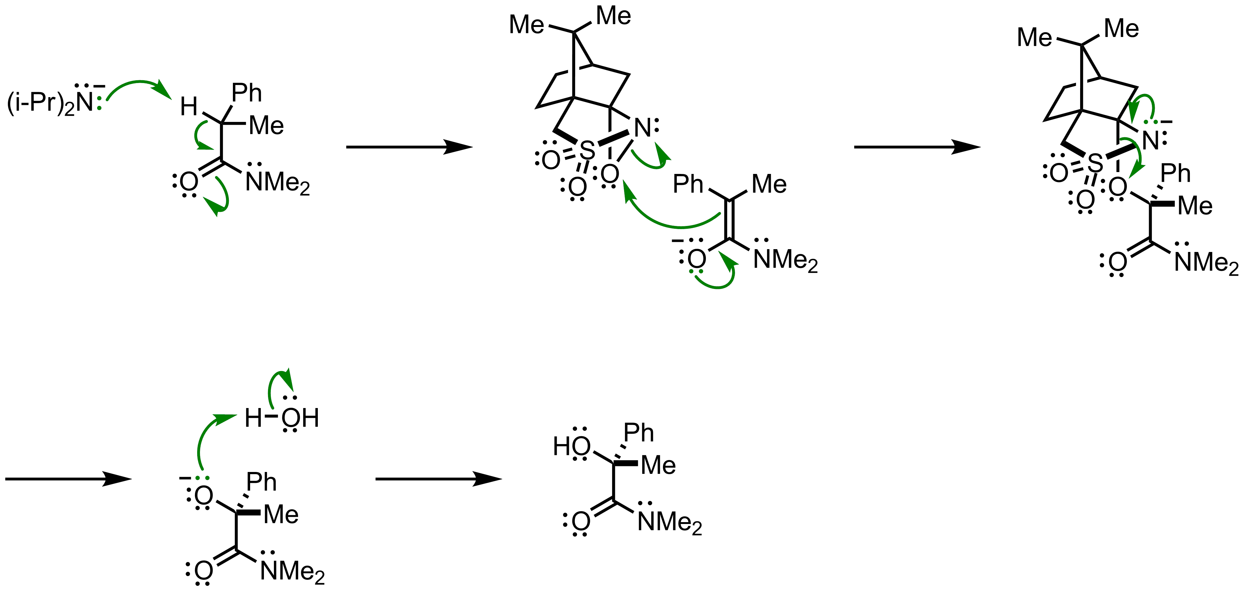 Mechanism of the Davis Asymmetric Hydroxylation