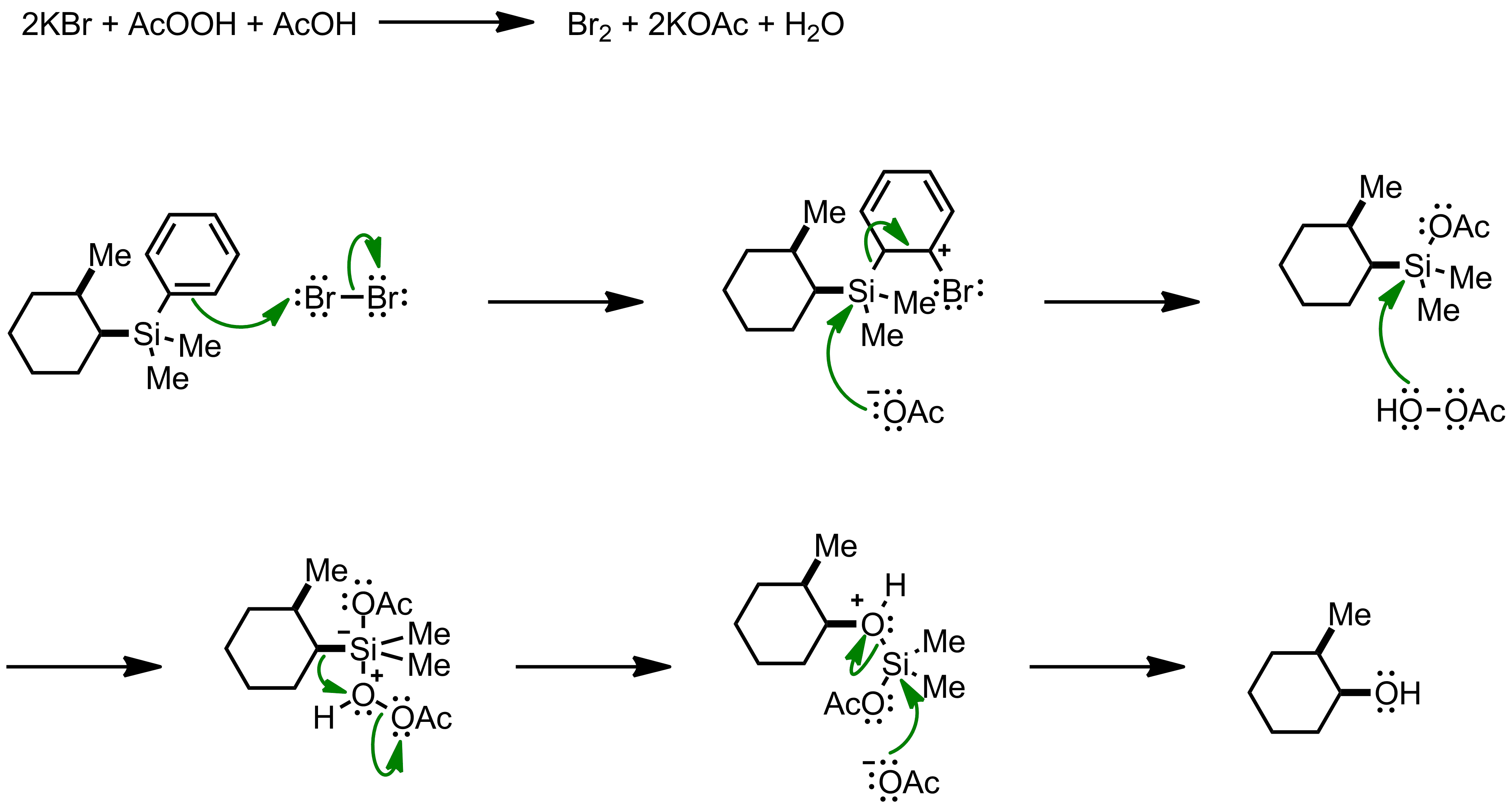 Mechanism of the Fleming-Tamao Oxidation