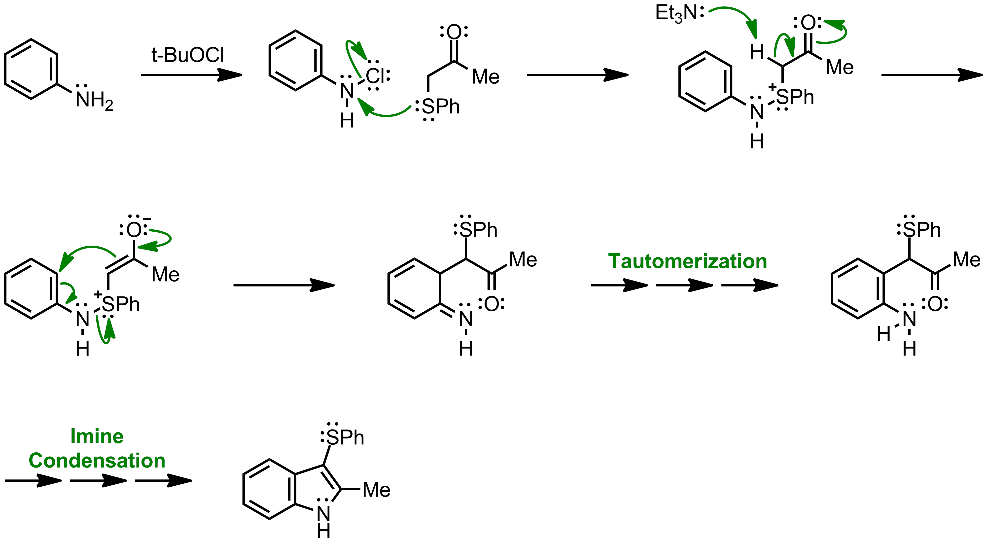 Mechanism of the Gassman indole synthesis