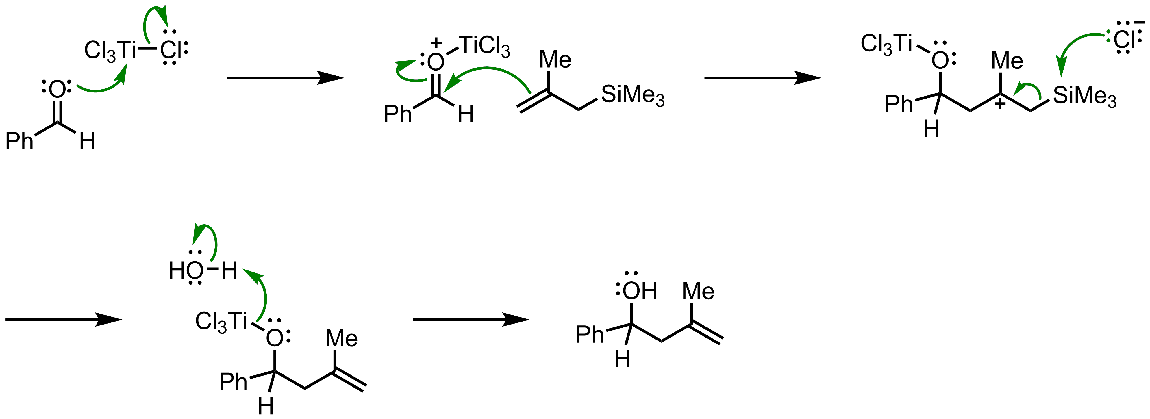 Mechanism of the Hosomi-Sakurai Reaction