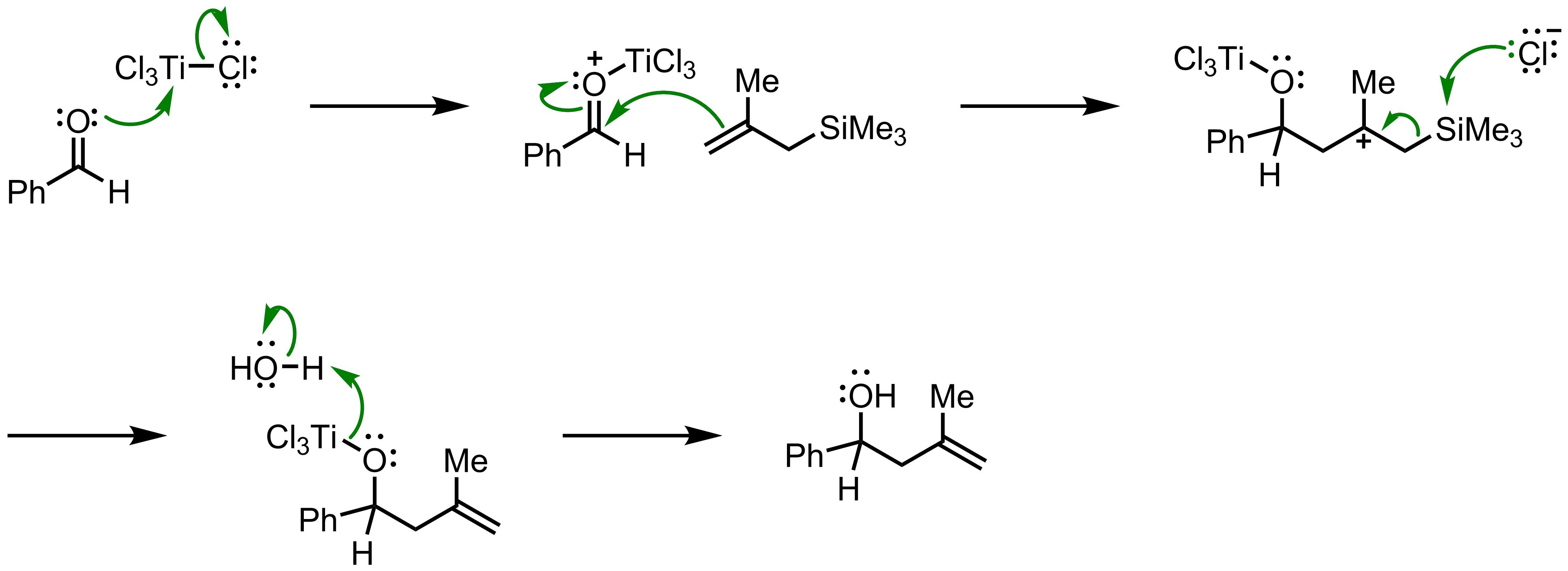 Mechanism of the Hosomi-Sakurai Reaction