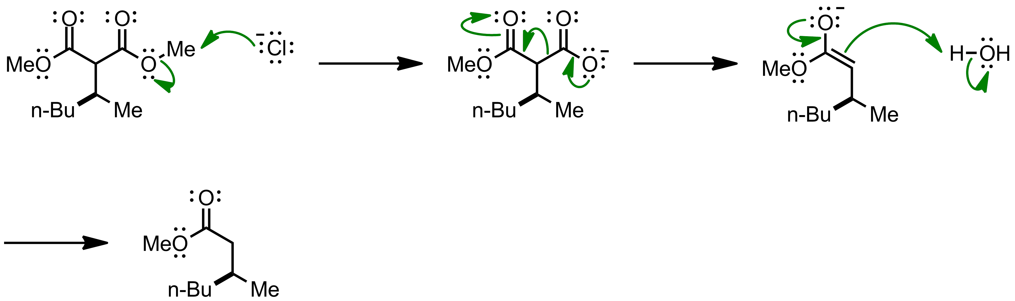 Mechanism of the Krapcho Decarboxylation